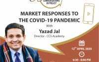 Webinar on Market Responses to COVID-19 Pandemic by CCS and Students for Liberty