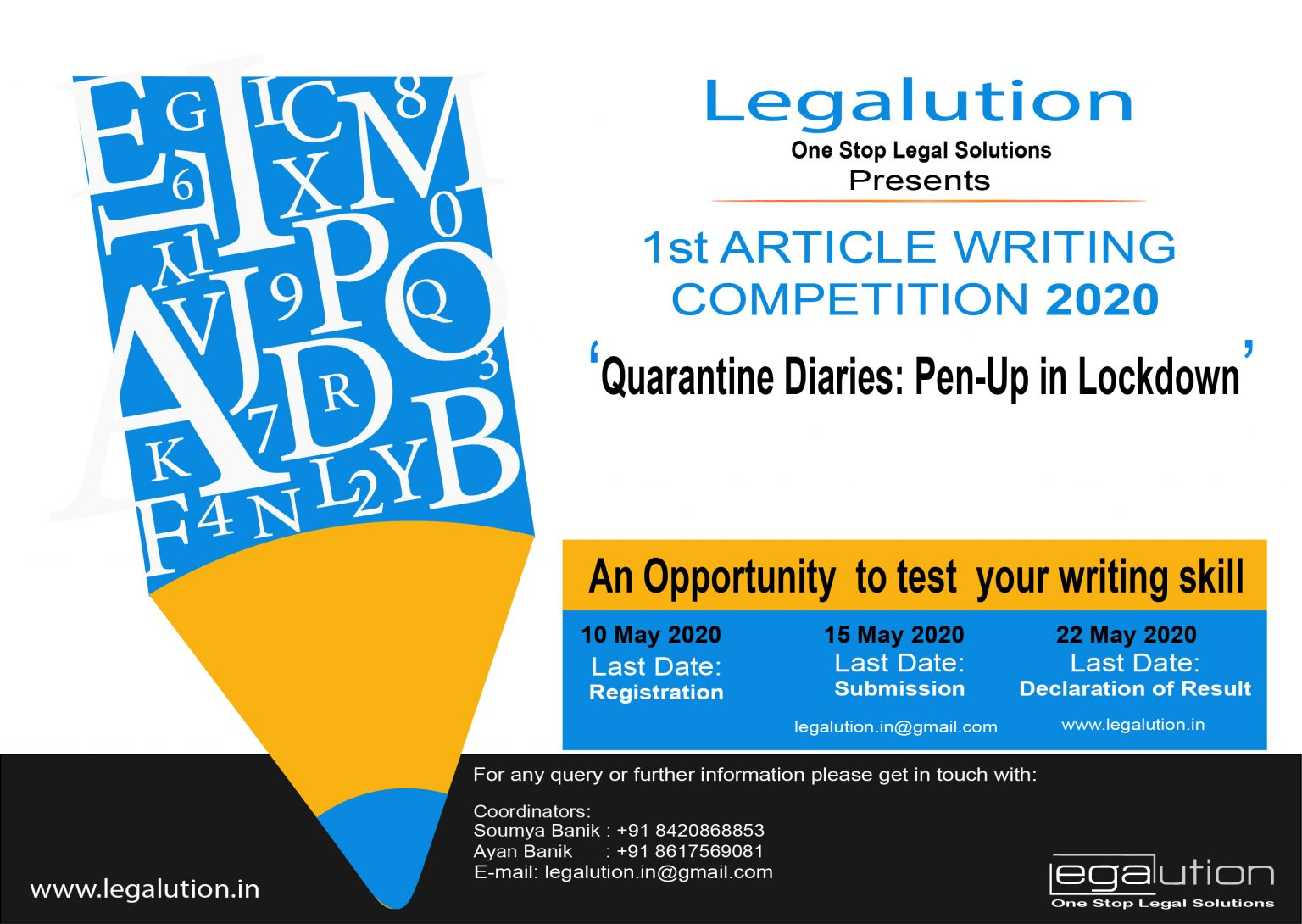 Legalution Article Writing