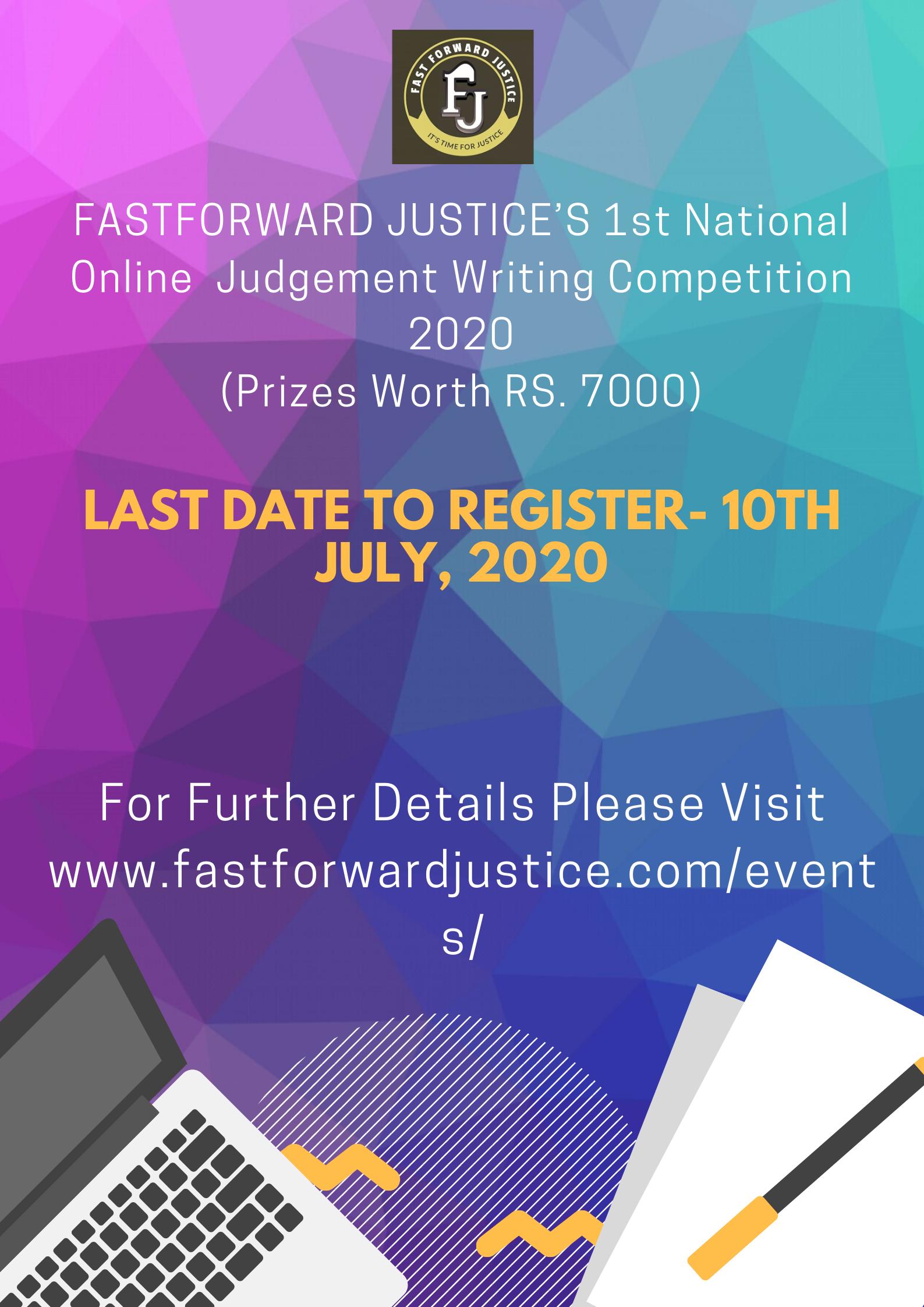 FastForward Justice's Judgment Writing Competition