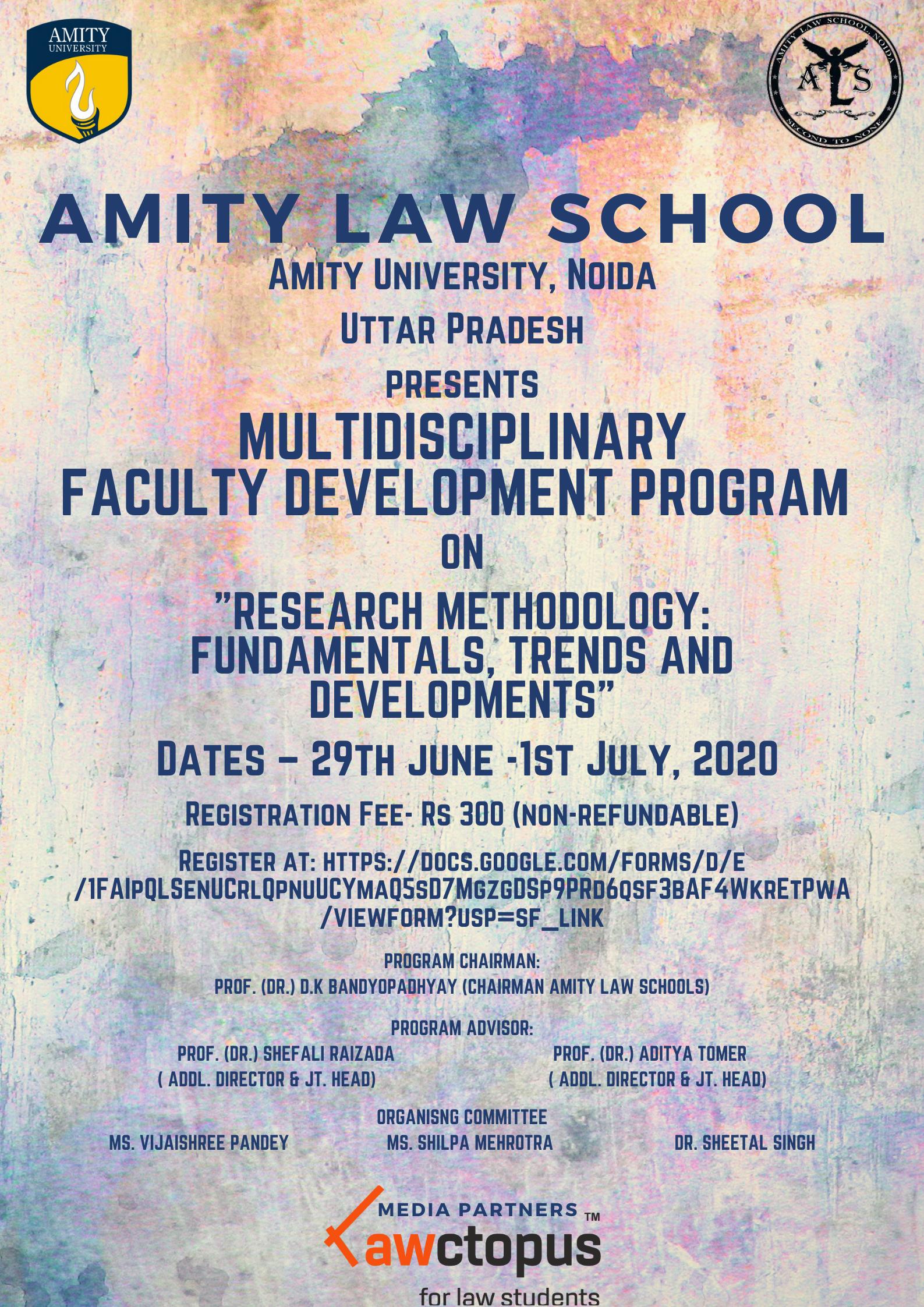 Amity Law School FDP