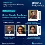 Daksha dialogues Online Dispute Resolution