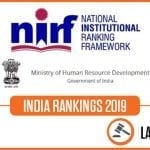 nirf law rankings 2020