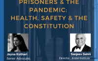 Webinar on Prisoners & the Pandemic by CLPR and NCS