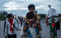 MNLU Aurangabad Support Stranded Migrant Workers