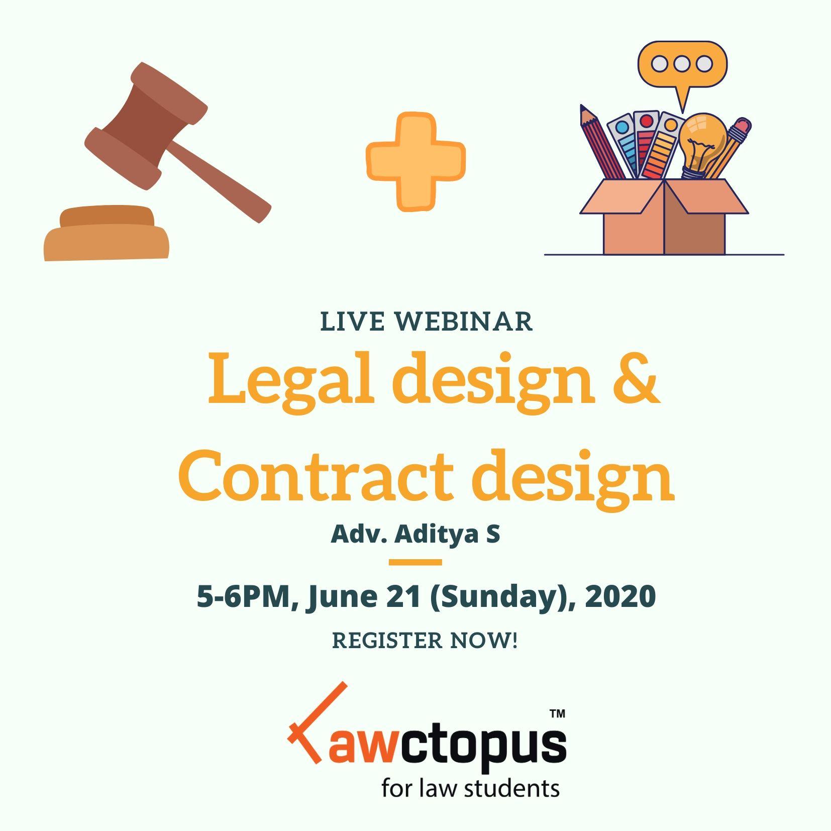 lawctopus webinar on legal design