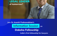 Webinar on Daksha Fellowship