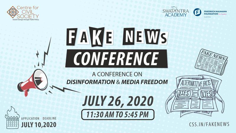 Fake news conference