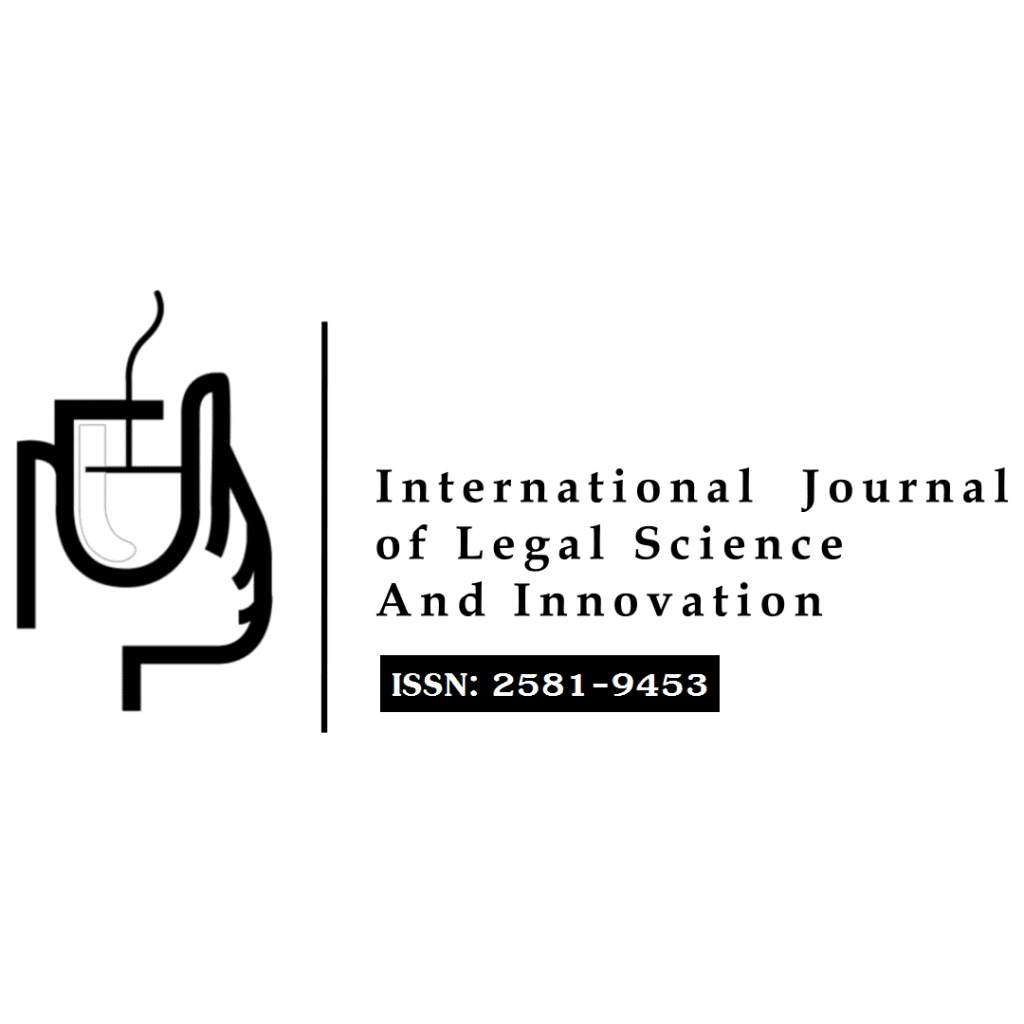 International Journal of Legal Science and Innovation