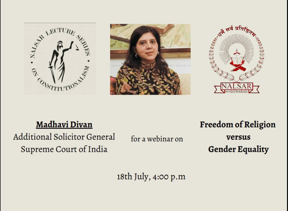 NALSAR Lecture Series