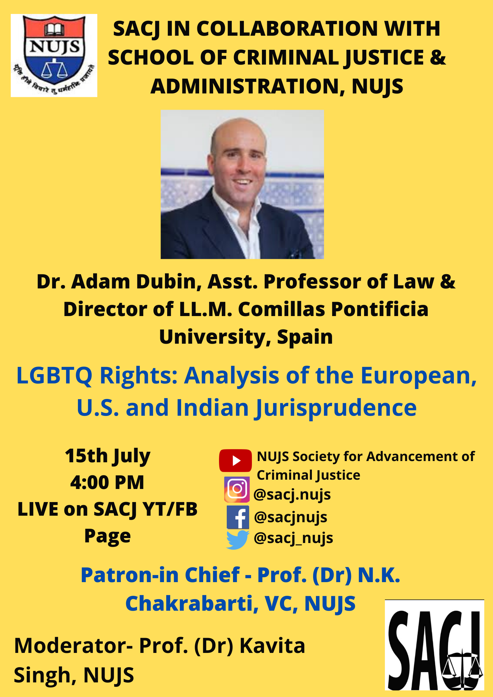 WBNUJS' Webinar on LGBTQ Rights