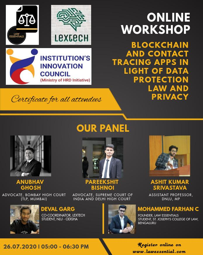 NLUO's LexTech & IIC and Law Essentials' Workshop