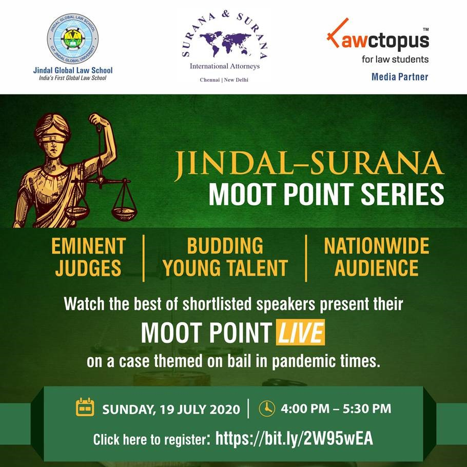 Jindal-Surana Moot Point Series
