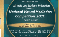 Virtual Mediation Competition by LawInternships and AILSF NGO
