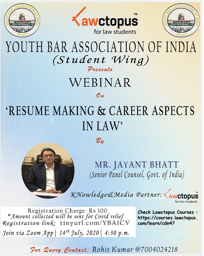 Youth Bar Association Webinar