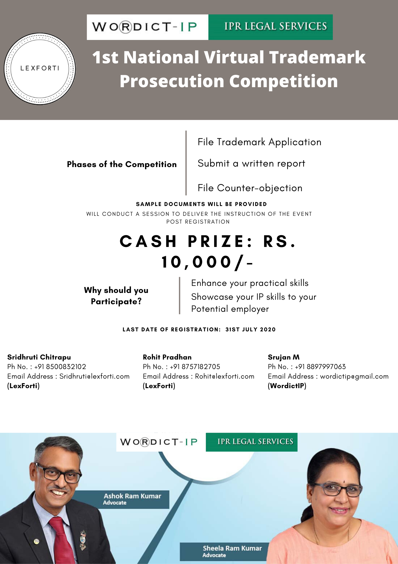 LexForti Legal News & Journal and Wordict IP Competition