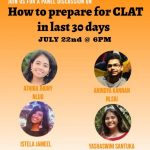 Panel Discussion on How to Prepare for CLAT in The Last 30 Days