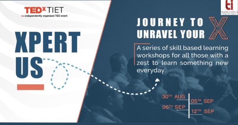 XpertUs: TEDxTIET's Workshop Series