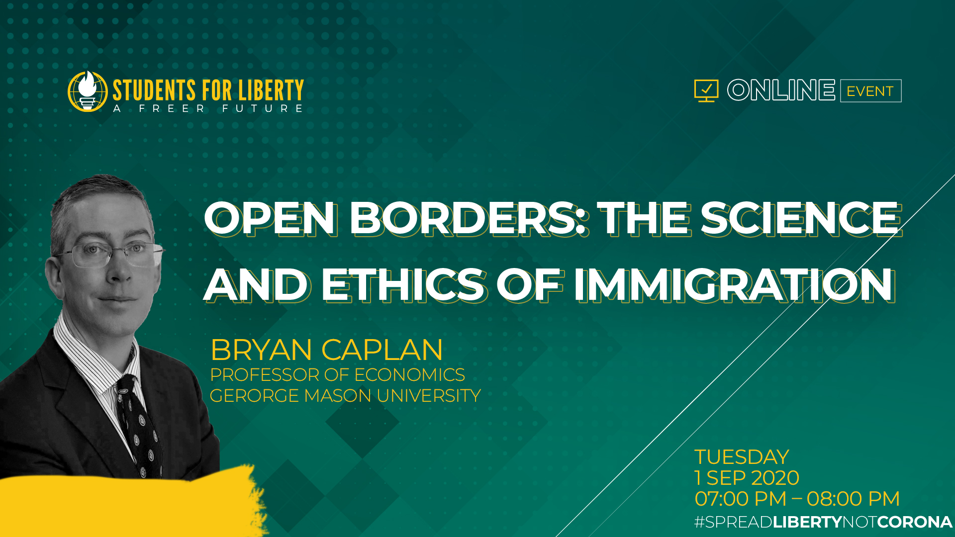 SASFL Webinar on Open Borders: The Science and Ethics of Immigration