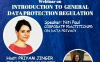 YIMF Webinar on Introduction to General Data Protection Regulation