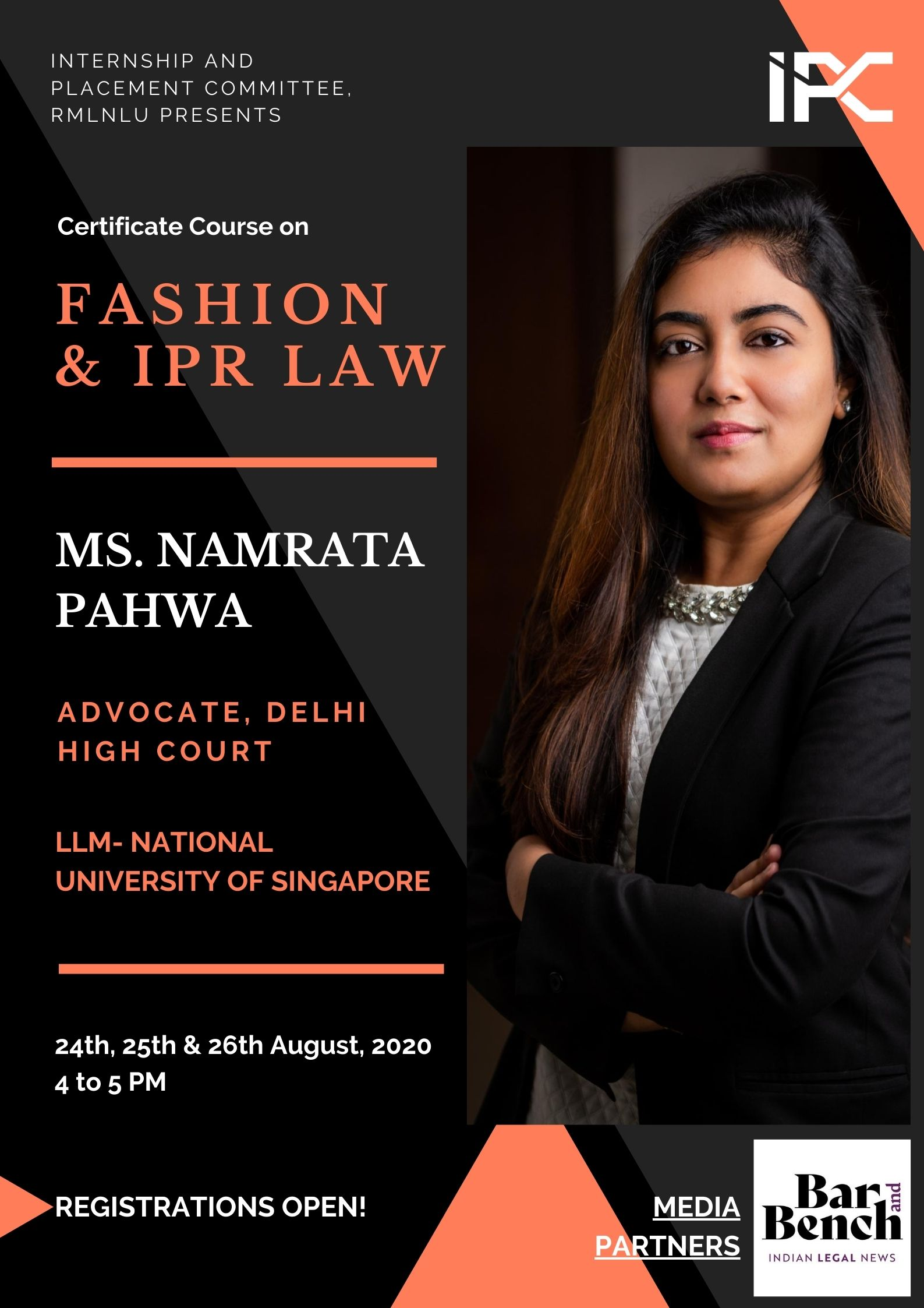RMLNLU's Online Certificate Course on Fashion Law
