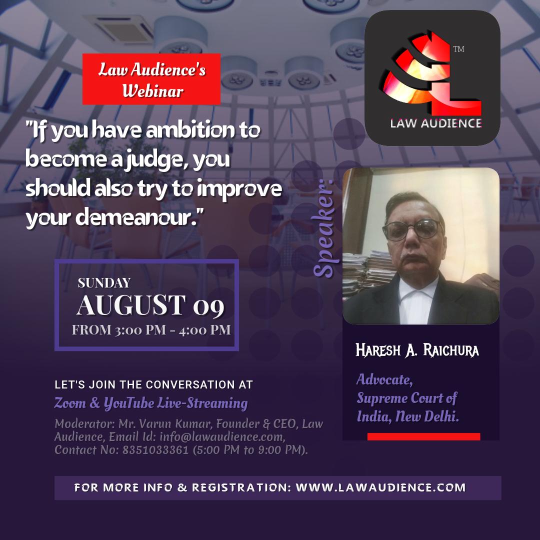 Law Audience's Webinar