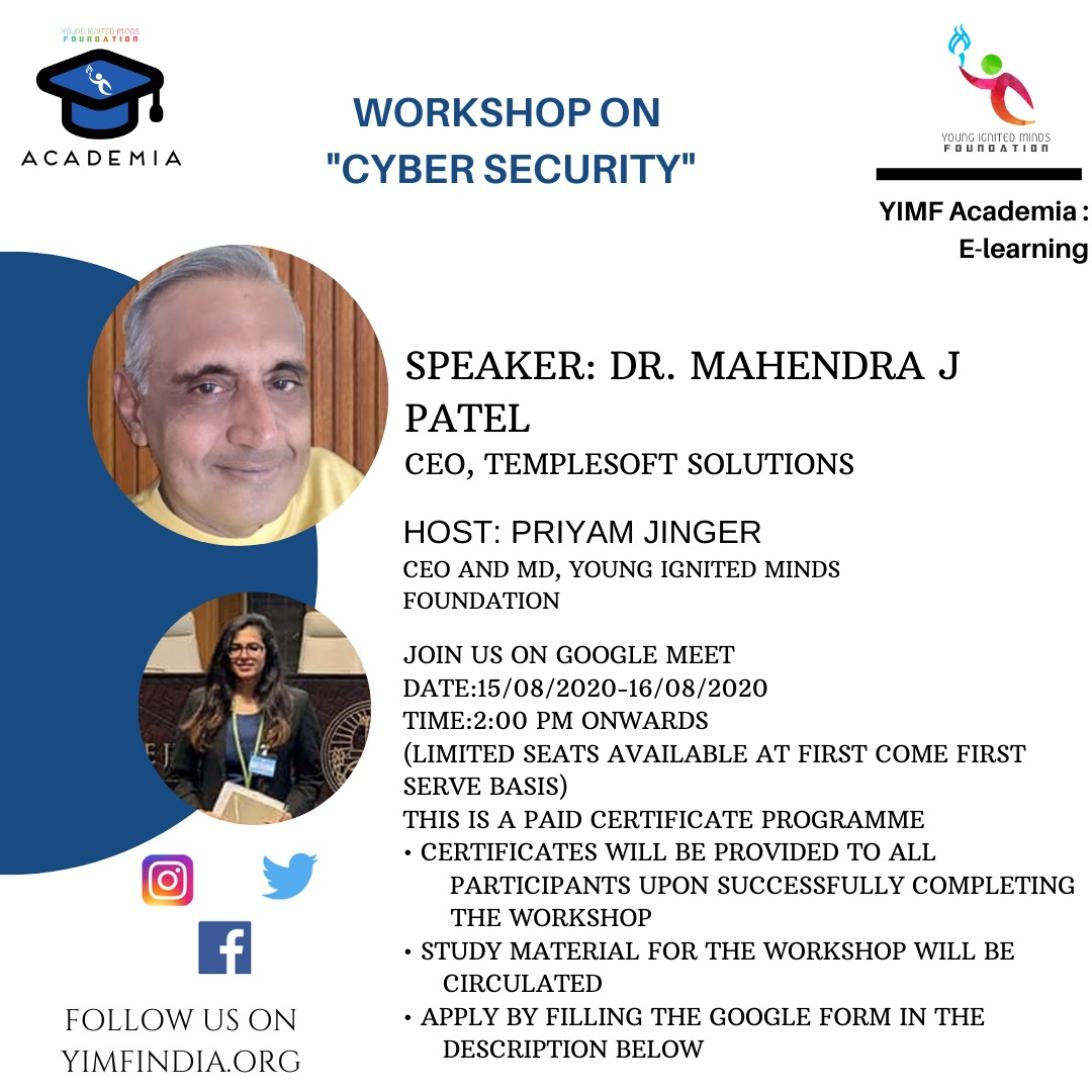 YIMF Webinar on Introduction on Cyber Security