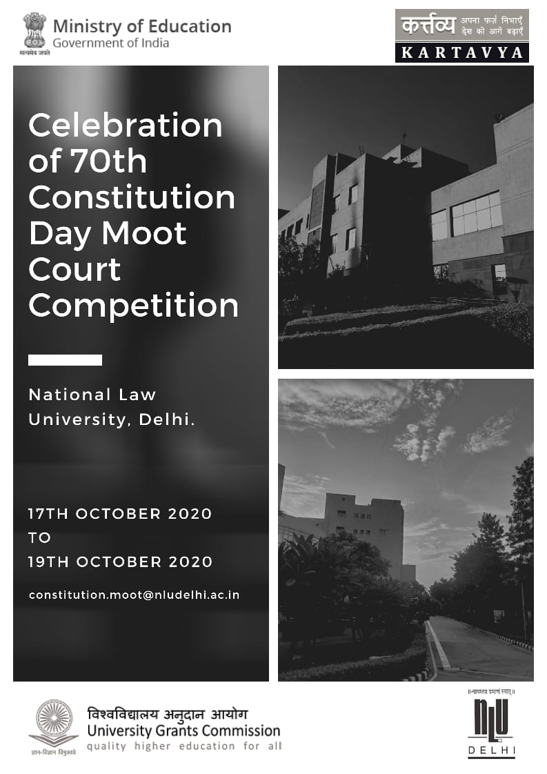 70th Anniversary of Indian Constitution Moot Court Competition by NLUD