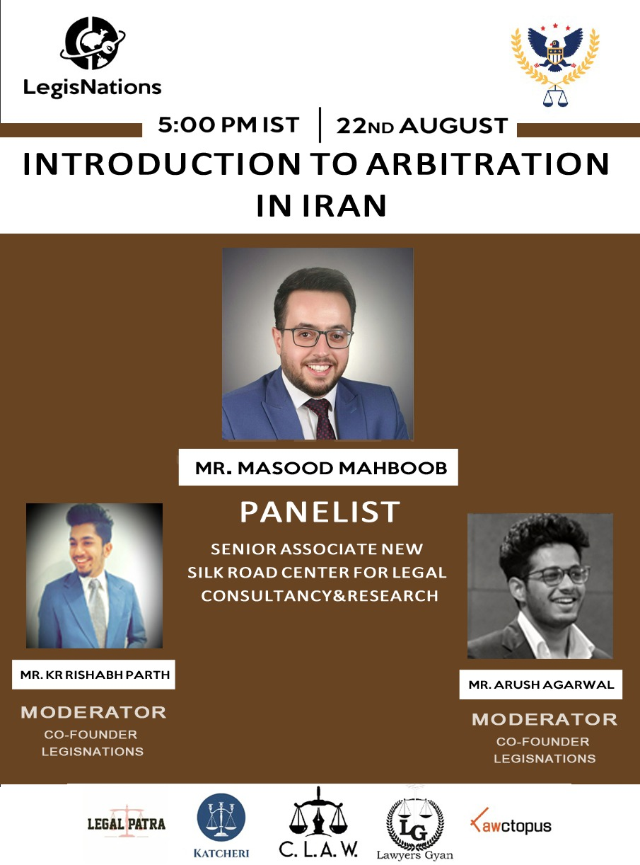LICAMR's Webinar on Various aspects of Arbitration in Iran
