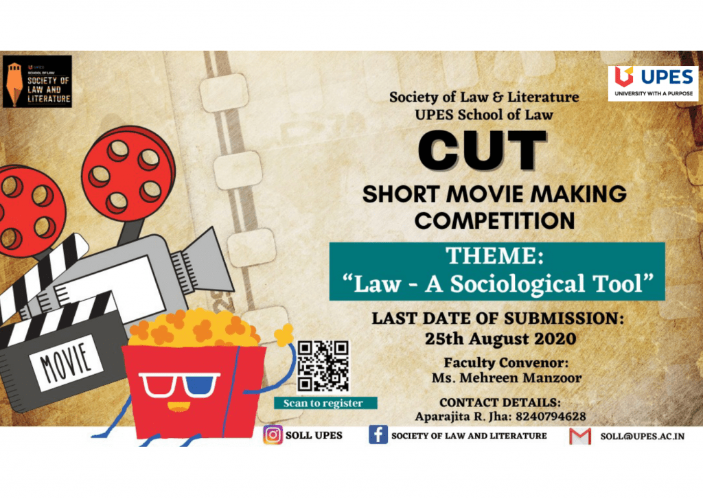 UPES Movie making contest