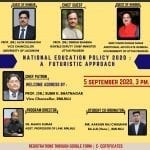 RMLNLU's Webinar on National Education Policy 2020: A Futuristic Approach