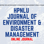 HPNLU's Journal of Environment and Disaster Management