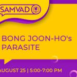 SASFL's Samvad on Bong Joon-Ho's Parasite