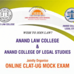 Free CLAT-UG Mock Exam by Anand Law College & Anand College of Legal Studies