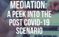 RGNUL'sWebinar on Mediation: A Peek into the Post COVID-19 Scenario