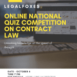 Legal Foxes Online Quiz Competition on Contract Law