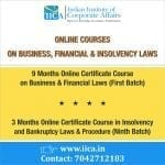 Indian Institute of Corporate Affairs' Online Courses