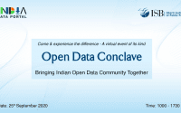 Open Data Conclave (ODC) 2020 by Indian School of Business (ISB)