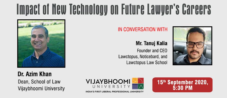 Lawctopus & Vijaybhoomi University Webinar