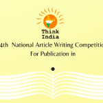 14th National Article Writing Competition by Think India