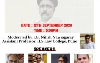 ILS' Webinar on A Century-Long Journey of Sedition in India