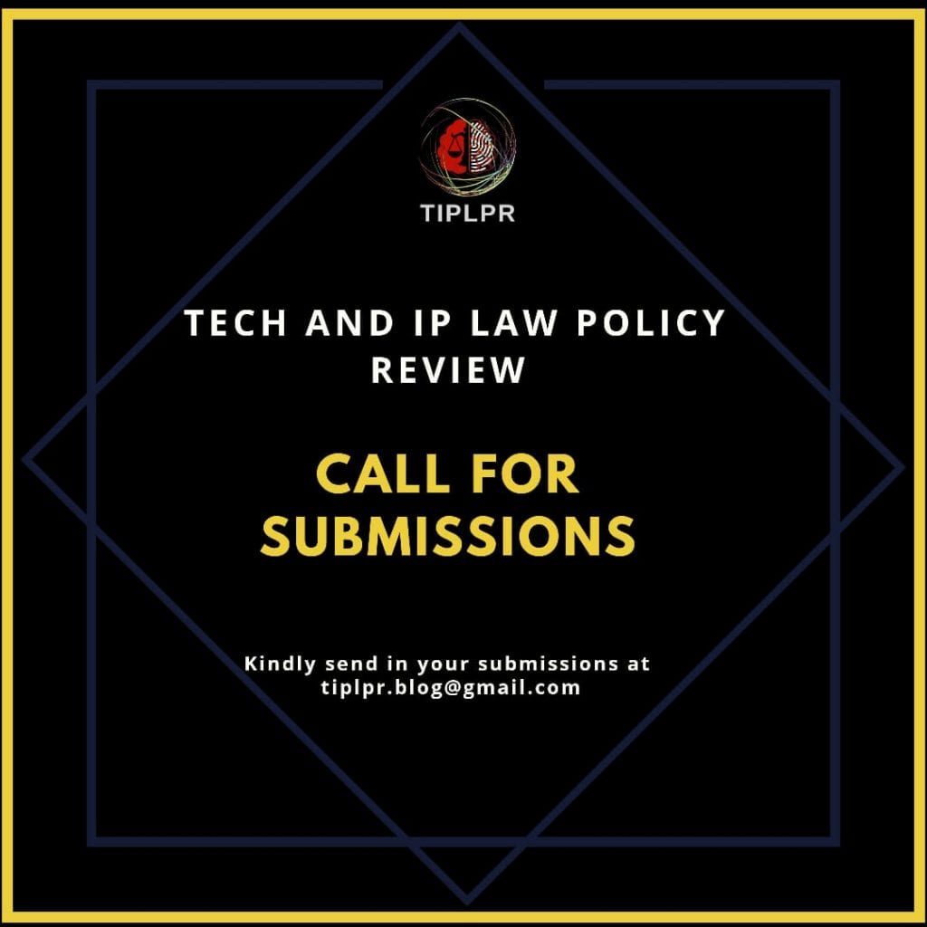 Tech & IP Law Policy Review Blog