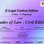 LPU's E-Legal Festival Edition: Shades of Law: Civil Edition