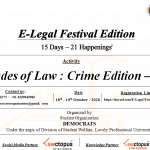 LPU's E-Legal Festival Edition