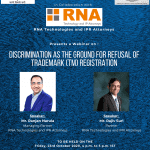 NLUO's Webinar on Discrimination as the Ground for Refusal of Trademark Registration