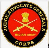 judge advocate general ssc JAG 27 Indian Army job post