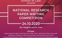 Graphic Era Hill University's 1st National Research Paper Writing Competition