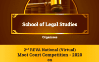 REVA University's National Moot Court Competition