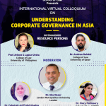 Christ University's Virtual Colloquium on Understanding Corporate Governance in Asia