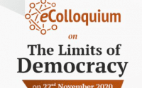 CCS' eColloquium on The Limits of Democracy