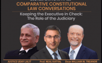 Society for Democratic Rights' Webinar on Keeping the Executive in Check: The Role of the Judiciary